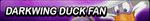 Darkwing Duck Fan Button by Wolfgangar