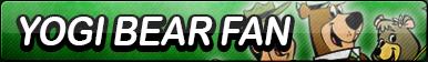 Yogi Bear Fan Button