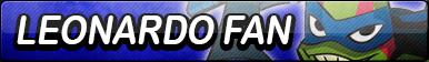 Leonardo (ROTTMNT) Fan Button