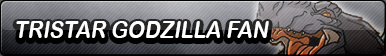 Tristar Godzilla Fan Button
