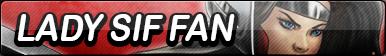 Lady Sif Fan Button