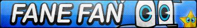 Fane the Fairy Fox Fan Button