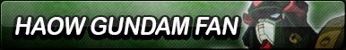 Haow Gundam Fan Button