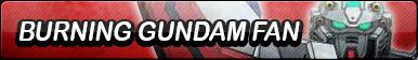 Burning Gundam Fan Button