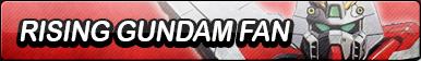 Rising Gundam Fan Button
