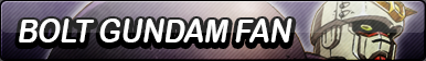 Bolt Gundam Fan Button