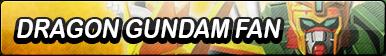 Dragon Gundam Fan Button