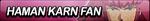 Haman Karn Fan Button by Wolfgangar