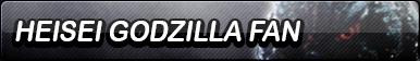 Heisei Godzilla Fan Button