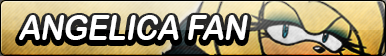 Angelica the Hedgehog Fan Button