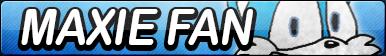 Maxie the Fox Fan Button