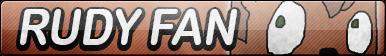 Rudy Tabootie the Fox Fan Button