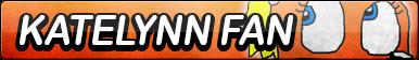 Katelynn the Fox Fan Button