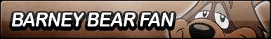 Barney Bear Fan Button