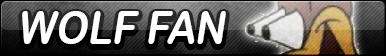 Wolf Fan Button