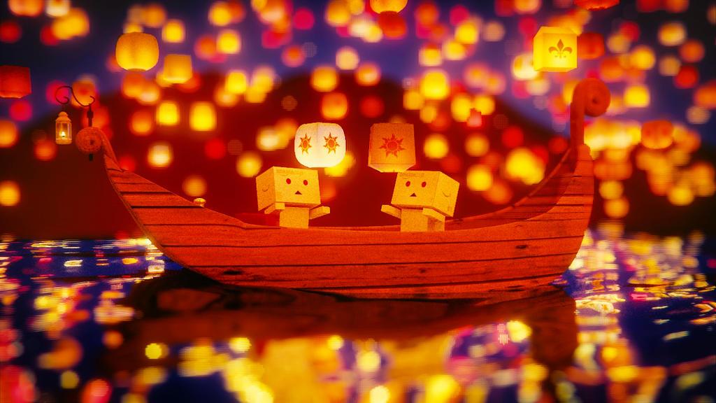 Sky Lanterns By IkyuValiantValentine