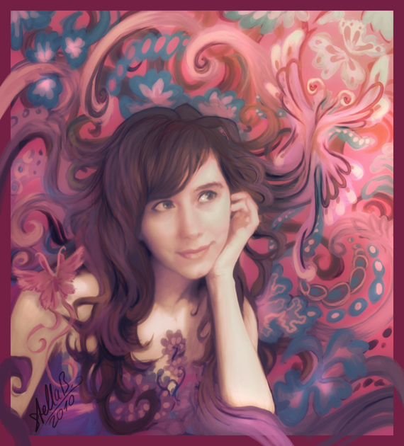 Swirly Me by StellaB