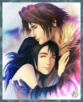 Rinoa and Squall