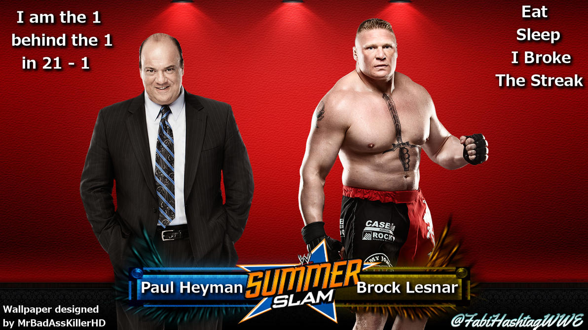 Brock Lesnar And Paul Heyman Wallpaper By Fabian Winchester