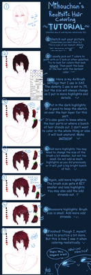 SAI Hair Coloring Tutorial