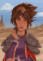 Taliyah, the Stoneweaver by Mikouchan