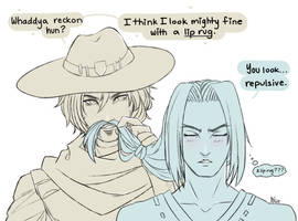Overwatch: Young McHanzo by Mikouchan