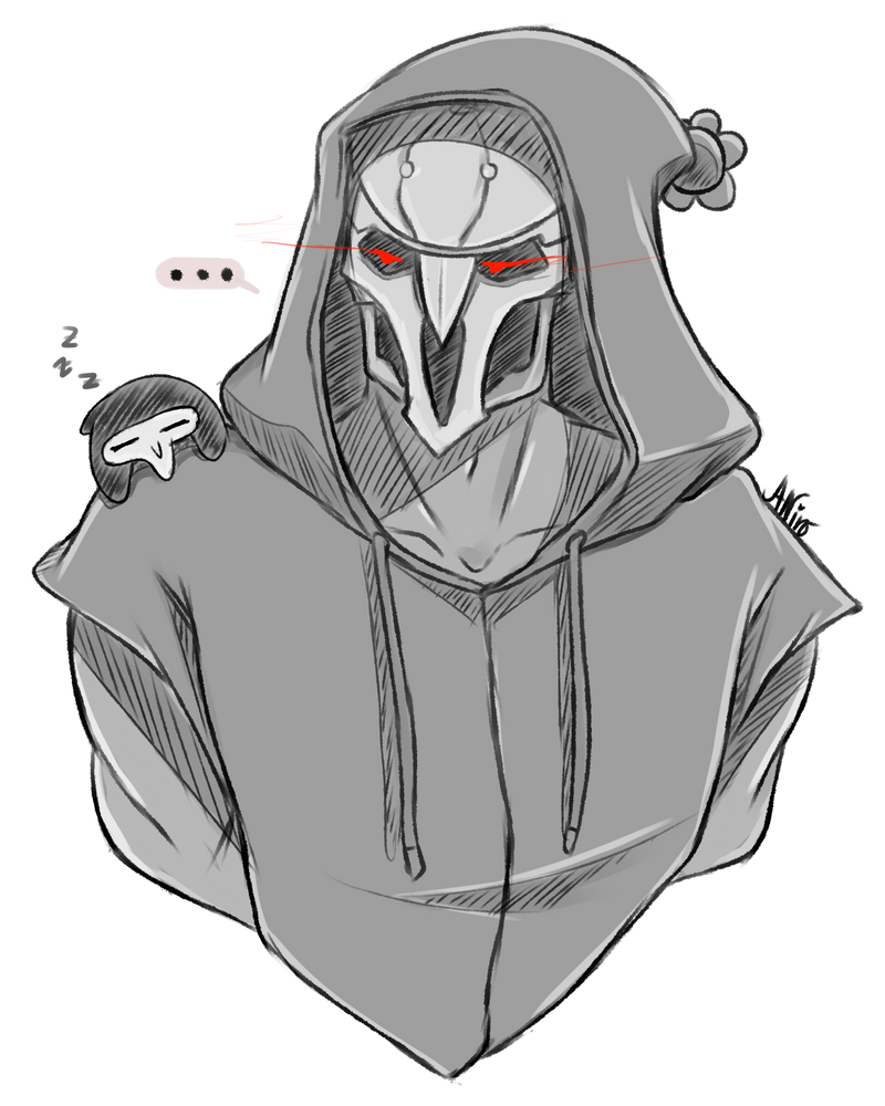 Overwatch Edgy And Bean Reapers By Mikouchan On Deviantart