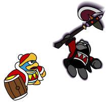 Kirby Triple Deluxe Shadow Dedede by Gregtendo