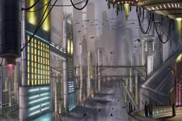 Future City by RQuack