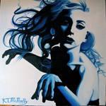 Lady Gaga Oil Painting