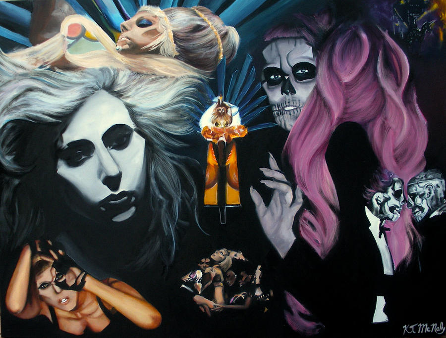 Born This Way Music Video Collage by kpotatodorkk