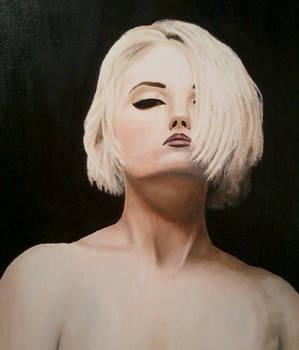 female study - acrylic