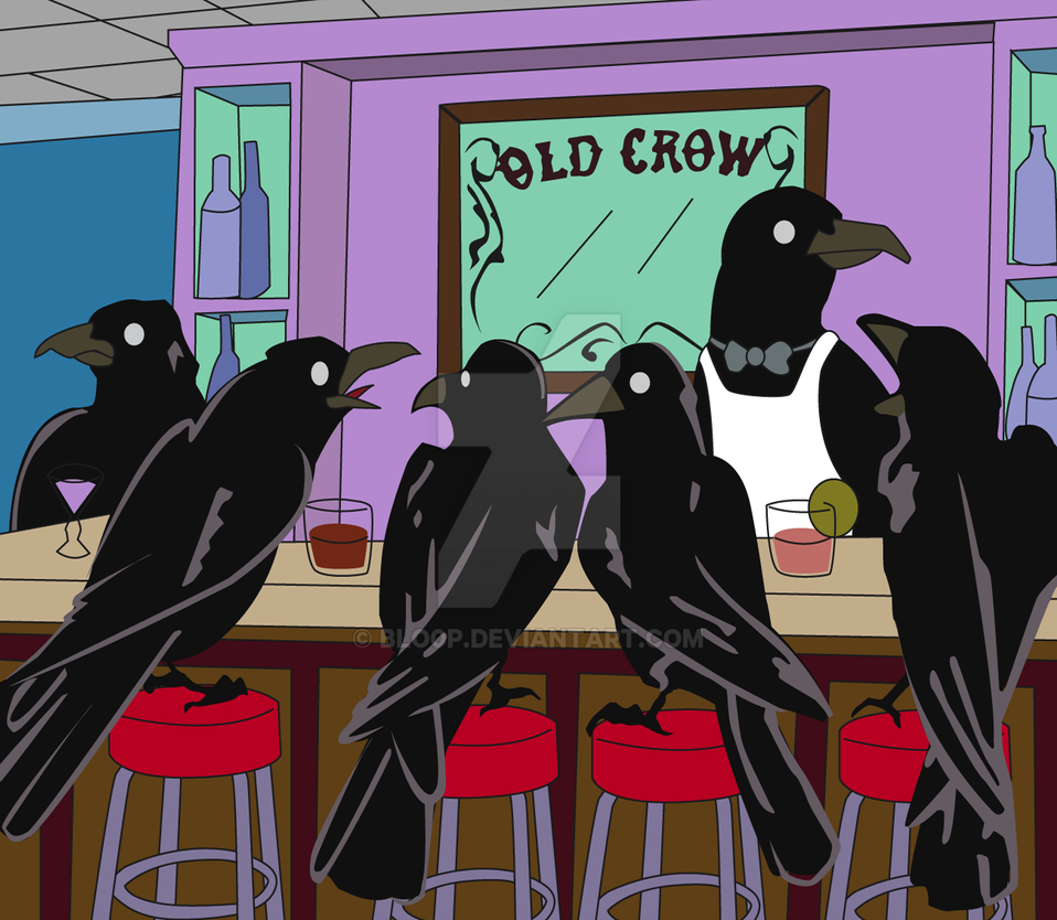 'Old Crow' Crow Bar by blo0p