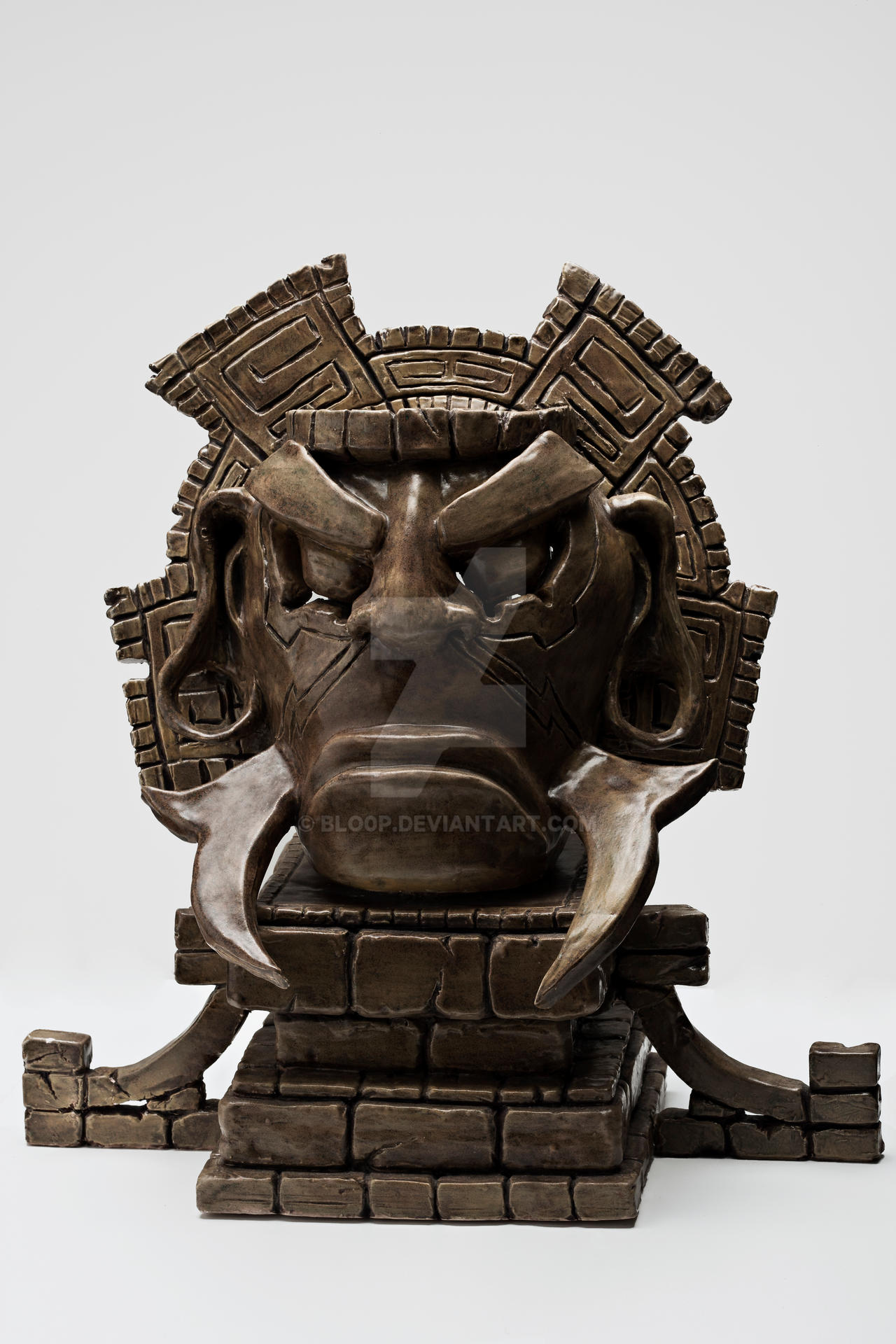Olmec - Full View by blo0p