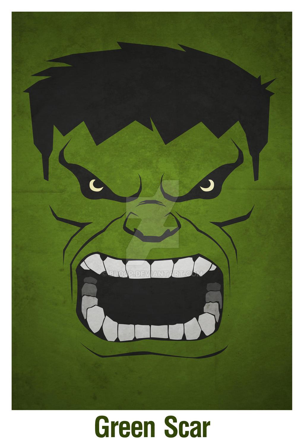 Green Scar By Blo0p On DeviantArt