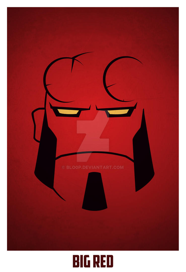 Hellboy by blo0p