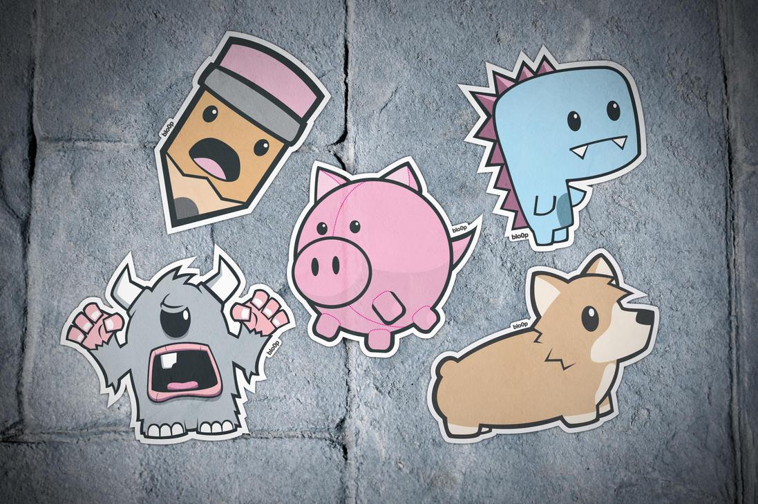 Sticker Pack by blo0p