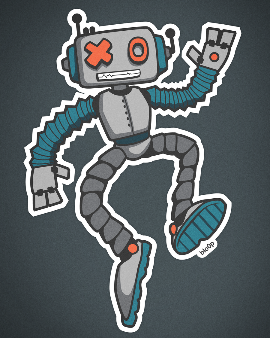 Scribblebot by blo0p