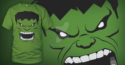Too Late, He's Angry (Hulk T-shirt)