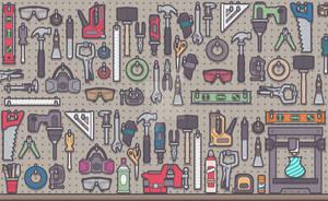 Workshop Tool Rack