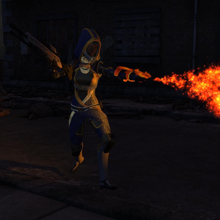 Fire's a Good Teammate by GallifreyanGhostGirl