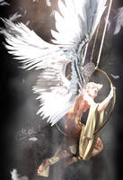 Angel at play : Lumiere