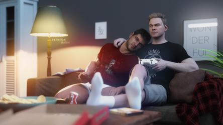Shawn x Tom - Gamer Boyfriends