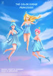 Color Dodge Princesses