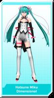 .:MRU PD Edition Hatsune Miku - Dimensional:.