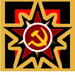 logo monochrome political soviet