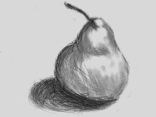 Pear Sketch By Figilove On DeviantArt