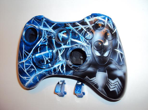 xbox360 custom airbrush shell by DepyArt on DeviantArt