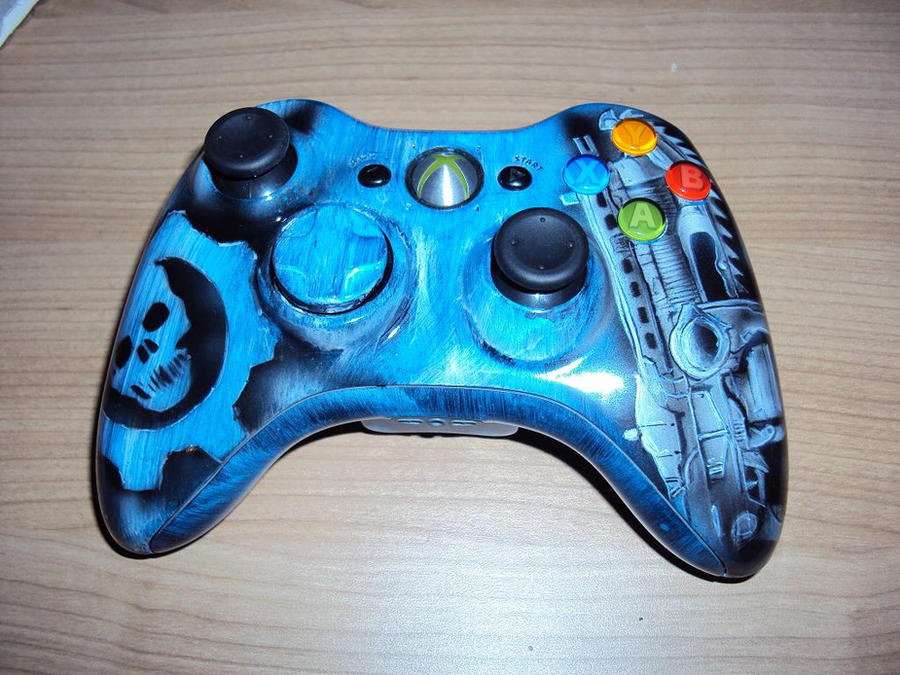 xbox 360 custom controller shell by DepyArt on DeviantArt