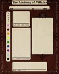AoV Student Design Sheet by eldendgha